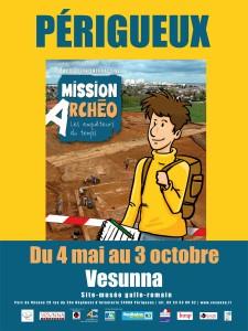 Affiche mission Archéo