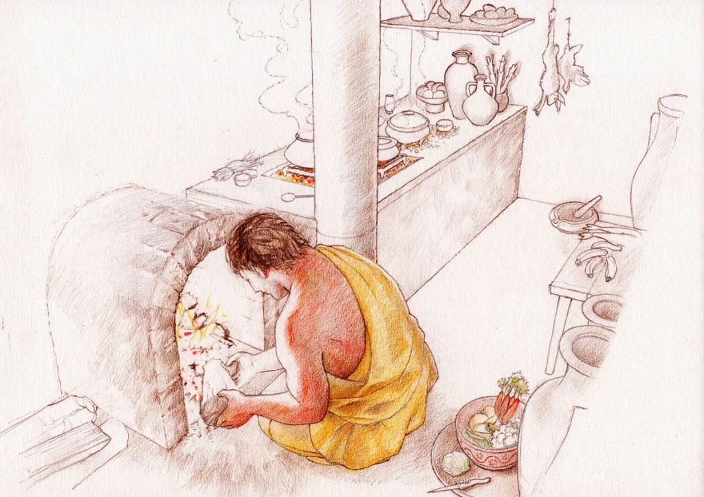 Atelier cuisine, dessin Pierre-Yves Videlier
