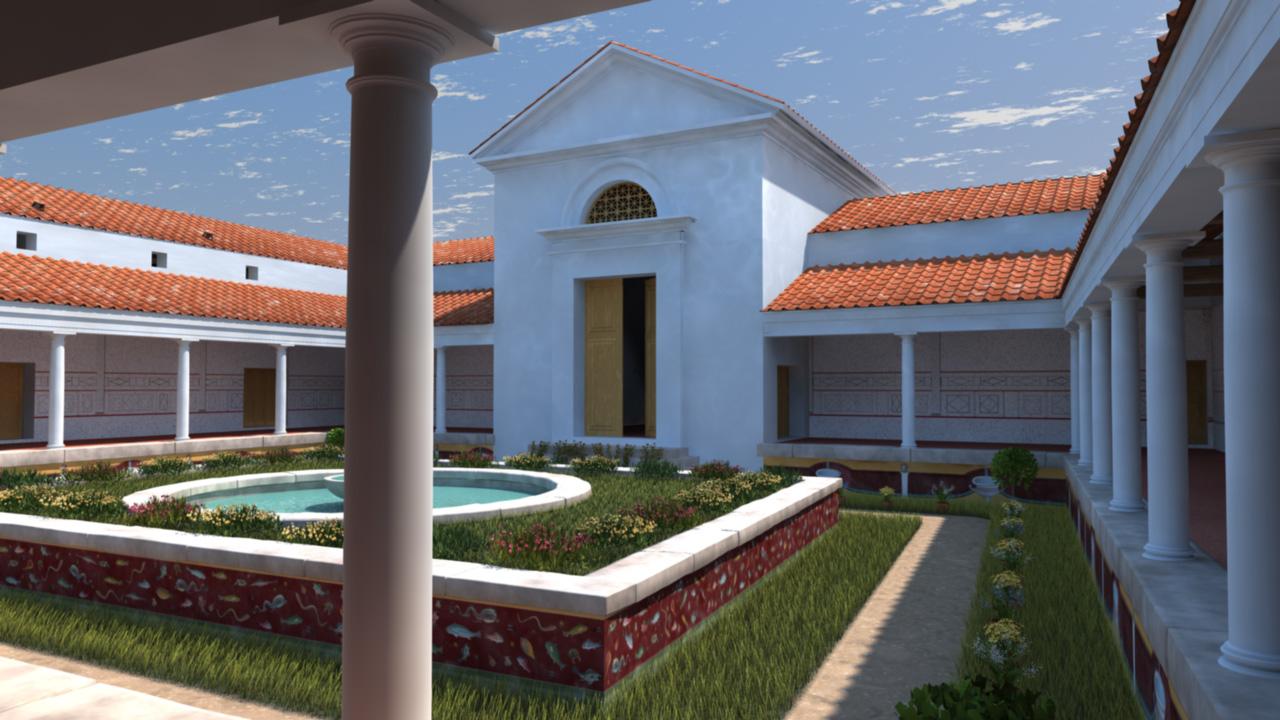 Un site arch ologique vesunna for Domus address