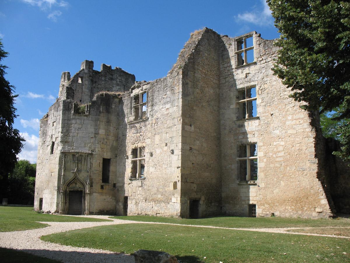 Le château barrière, photo Elisabeth Pénisson
