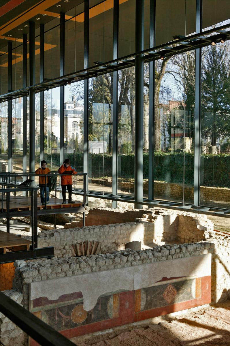 Vesunna un site archéologique, photo Jac'phot 05 65 32 49 45